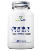 Chromium Picolinate Nature Healthy 250mcg, frasco, 1 unidade com 90 cápsulas