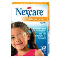 Protetor Ocular Nexcare Infantil 20 unidades