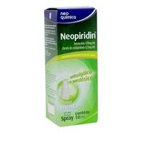Neopiridin 4mg/mL + 0,5mg/mL, caixa com 1 frasco spray com 50mL de solução de uso oral