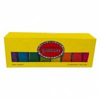 amarelo, barra, 8 unidades com 90g cada