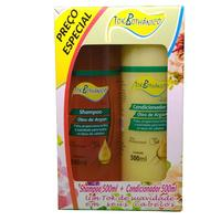 Kit Tok Bothânico Óleo de Argan shampoo, 500mL + condicionador, 500mL