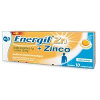Energil Zinco 1g + 10mg tubo com 10 comprimidos efervescentes