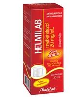 Helmilab 20mg/mL, caixa com 1 frasco com 30mL de suspensão de uso oral + copo medidor