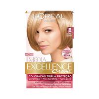 Tintura L'Oréal Imédia Excellence Creme nº 8 louro claro