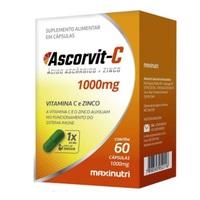 Ascorvit C 1000mg, caixa com 60 cápsulas