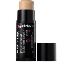 Protetor Solar Facial Pinkcheeks Pink Stick FPS 90, 21km