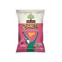 Biscoito Integral Mãe Terra Zooreta - morango, 20g