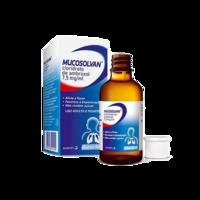 Mucosolvan 7,5mg/mL, caixa com 1 frasco gotejador com 50mL de solução de uso oral + 1 copo medidor