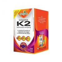 Vitamina K2 Katiguá 125mg, frasco com 120 cápsulas