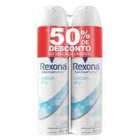 cotton dry, aerosol, 150mL + 50% desconto 2ª unidade