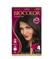 Tintura Creme Biocolor nº 5.1 castanho claro acinzentado