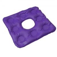 Almofada de Assento Bioflorence inflável, quadrada com orifício, caixa de ovo