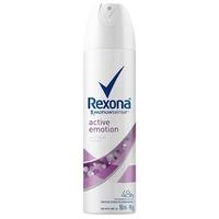 Desodorante Feminino Rexona Motionsense active emotion, aerosol, 1 unidade com 150mL