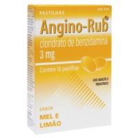 3mg, caixa com 16 pastilhas, mel/limão