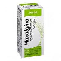 Maxalgina Solução Oral 500mg/mL, caixa com 1 frasco gotejador com 10mL de solução de uso oral