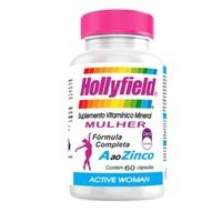 Hollyfield Active Woman 500mg, frasco com 60 cápsulas