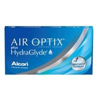 Lente de Contato Air Optix Plus HydraGlyde para Miopia grau -10.00, 3 pares