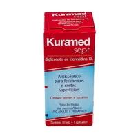 Kuramed Sept 10mg/mL, frasco com 30mL de solução de uso dermatológico
