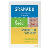 Sabonete de Glicerina Granado Bebê tradicional, barra, 1 unidade com 90g