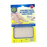 Placa de Gel Aderente Multi-uso Ortho Pauher - 8cm x 10cm, 1 unidade