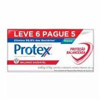 Sabonete Antibacteriano Protex Balance barra, 85g, leve 6 e pague 5