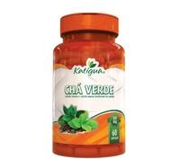 Chá Verde Katiguá - 500mg, frasco com 60 cápsulas