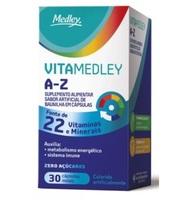 VitaMedley A-Z caixa com 30 cápsulas moles