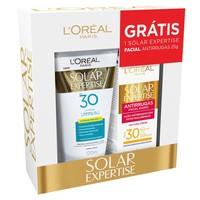 - FPS 30 com 120mL + protetor solar Expertise antirrugas, FPS 30 com 25g