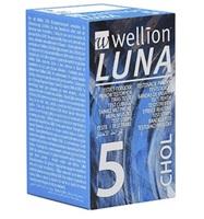 Fita para Medir Colesterol Wellion Luna 5 unidades
