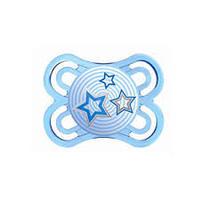 Chupeta Mam Perfect - 0 a 6 meses, azul, star