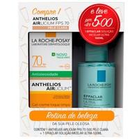 pele clara, FPS 70, 50g + solução micelar effaclar, 100mL