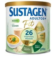 Complemento Alimentar Sustagen Adulto+ Fit sem sabor, lata com 370g