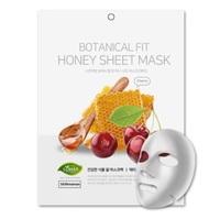 Máscara Facial Coreana Nojh Botanical Fit Honey Sheet Mask Cherry 1 unidade