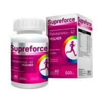 Supreforce Mulher 500mg, frasco com 60 comprimidos