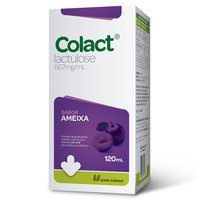 Colact 667mg/mL, caixa com 1 frasco com 120mL de xarope