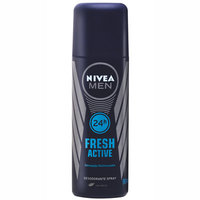 Desodorante Masculino Nivea For Men Fresh Active spray com 90mL