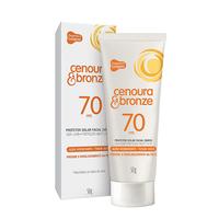 Protetor Solar Facial Cenoura & Bronze FPS 70, 50g