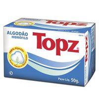 Algodão Topz rolo com 50g