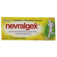 Nevralgex 300mg + 50mg + 35mg, caixa com 30 comprimidos