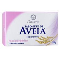 Sabonete Hidratante Davene Leite de Aveia hipoalergênico, 90g