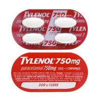 750mg, blíster com 4 comprimidos revestidos