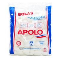 Algodão Apolo bola, branco com 100g