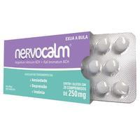 Nervocalm 250mg, caixa com 20 comprimidos