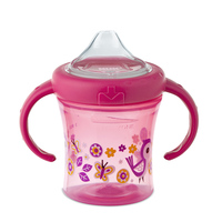 Copo My First Nuk 6+ Meses, 200mL, Rosa
