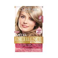 Tintura L'Oréal Imédia Excellence Creme nº 8.1 louro sueco
