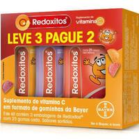 30mg, caixa com 3 sachês com 25 gomas mastigáveis (sachês de sabores sortidos)