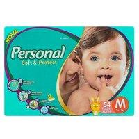 Fralda Personal Baby - M, 54 unidades