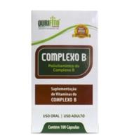 Complexo B Ourifito 500mg, frasco com 100 cápsulas