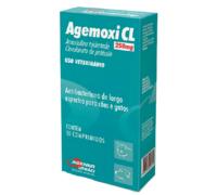 Agemoxi CL 250mg, caixa com 10 comprimidos
