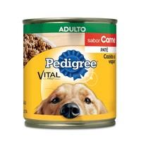 Ração para Cães Pedigree Adulto Patê carne com 280g